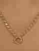 14 Ayar Altın Pullu Zincir 3.90 mm - Thumbnail