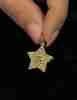 14 Ayar Altın 3 Boyutlu Yıldız Kolye Ucu