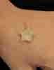 14 Ayar Altın 3 Boyutlu Yıldız Kolye Ucu - Thumbnail
